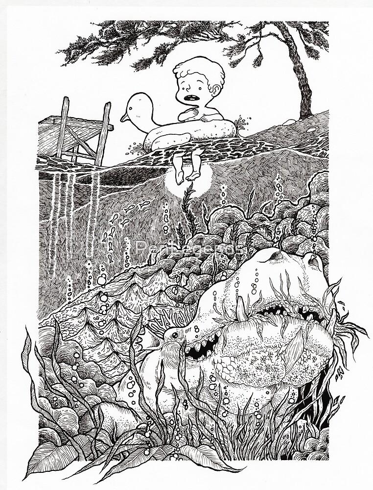 Sea Monster by PenLegends