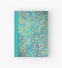 Cuaderno de tapa dura Sapphire & Jade Stained Glass Mandalas