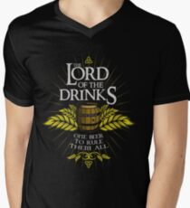 Lord of the Drinks Men's V-Neck T-Shirt