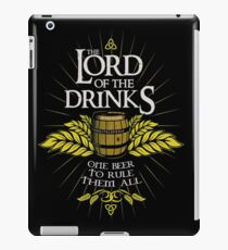 Lord of the Drinks iPad Case/Skin
