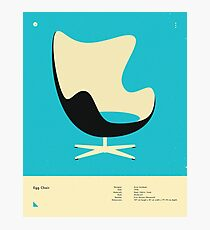 EGG CHAIR (1958) Photographic Print