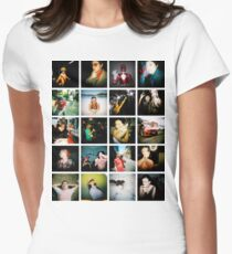 Holga Mosaic Womens Fitted T-Shirt