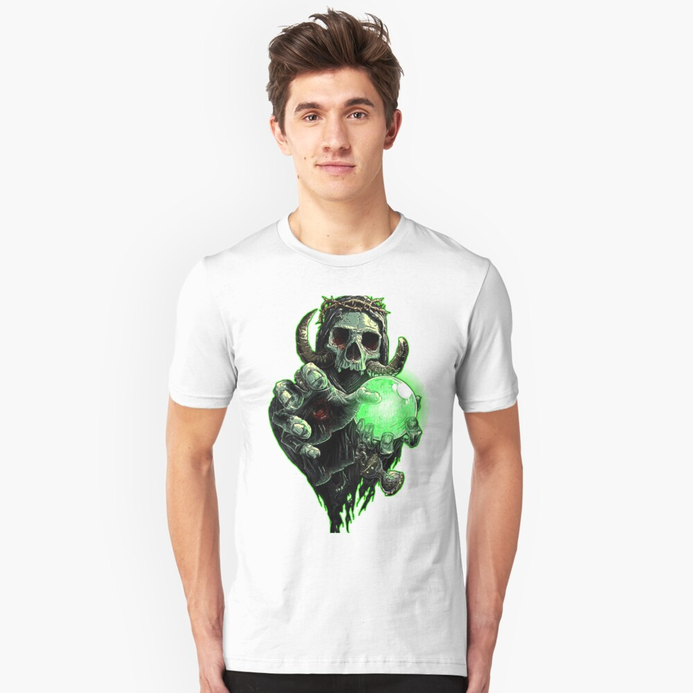 Devil crystal ball  Unisex T-Shirt Front