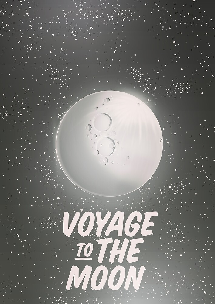 Voyage to the moon by vectorwebstore