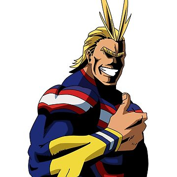 My Hero Academia - All Might Thumbs Up by OyasumiSupreme