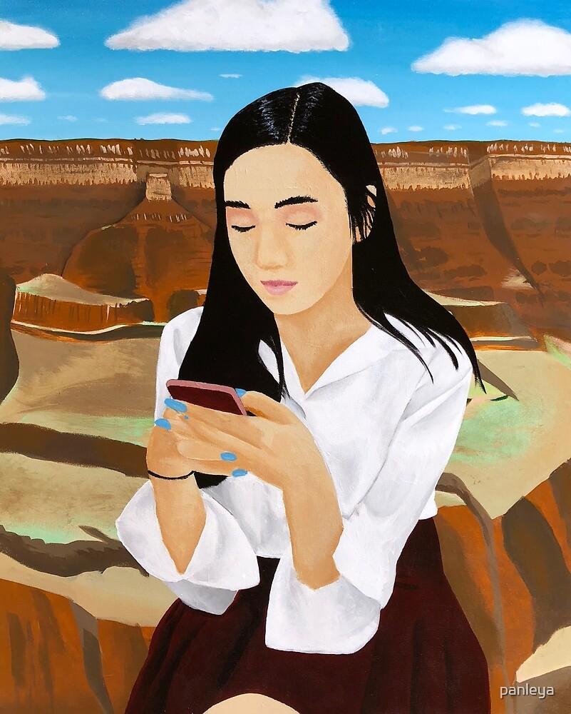 Mona Lisa Texts by panleya