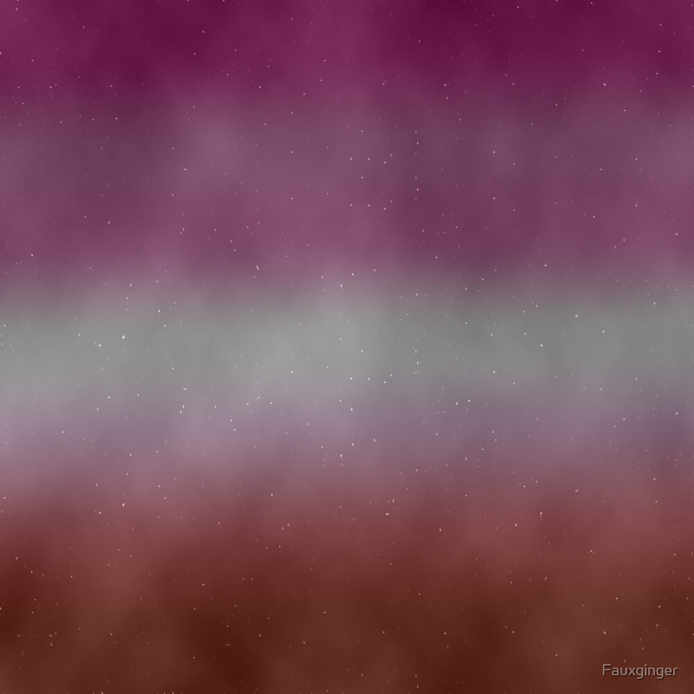 Lesbian Pride Galaxy by Fauxginger