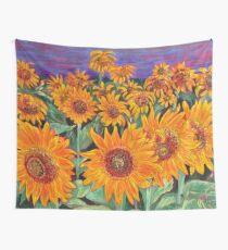Sunflower Field Tapestry