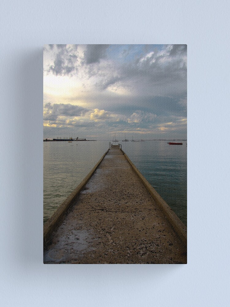 Alternate view of Old jetty Canvas Print