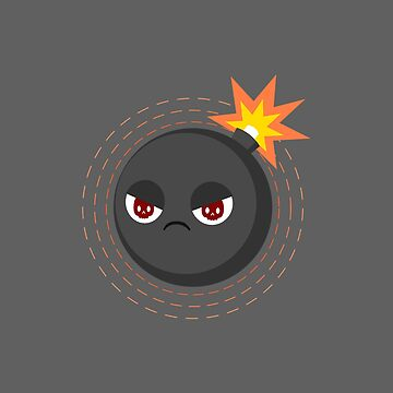 Kawaii angry bombs by petitspixels
