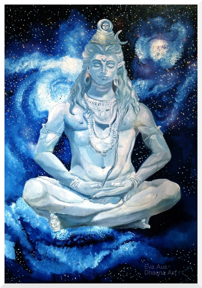 Lord Shiva by Dhaena