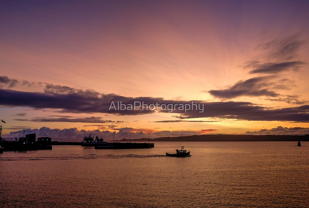 Mallaig Sunset, Scotland by AlbaPhotography