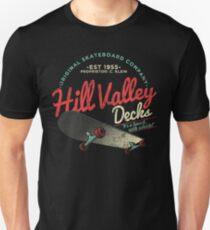 Hill Valley Decks Original Skateboard Company Unisex T-Shirt