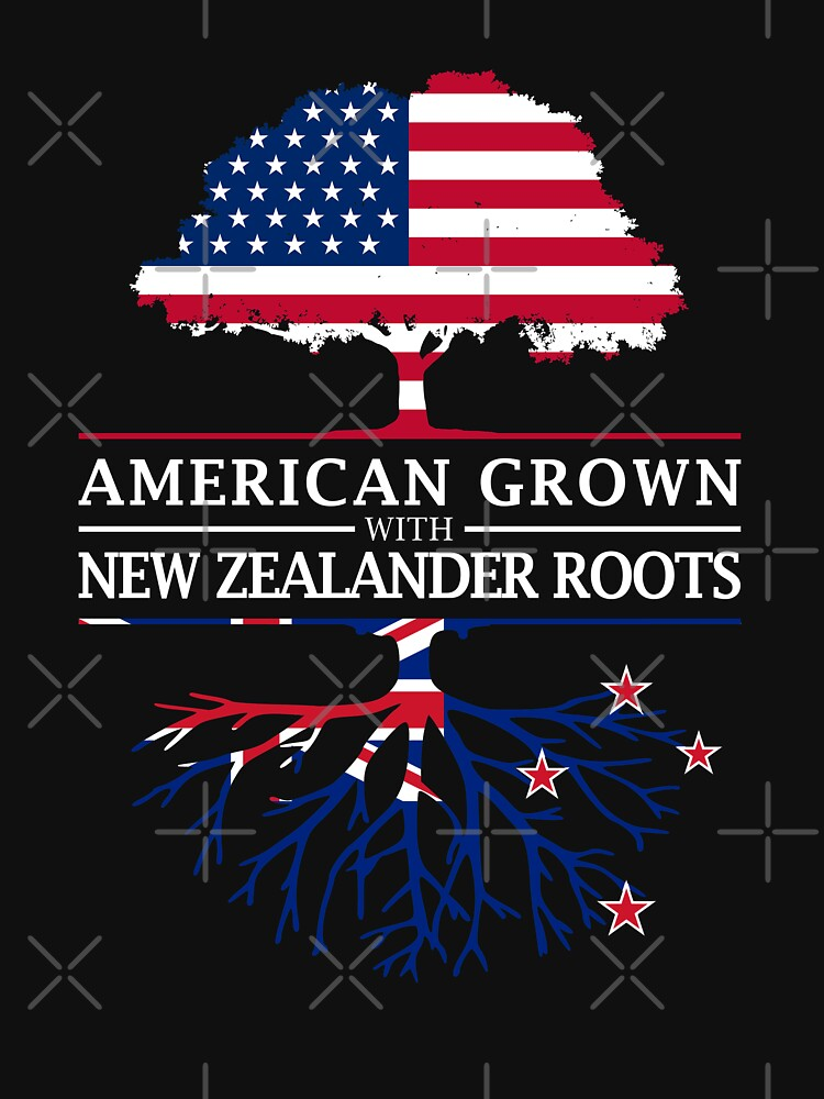 American Grown with Zealander Roots   New Zealand Design by ockshirts