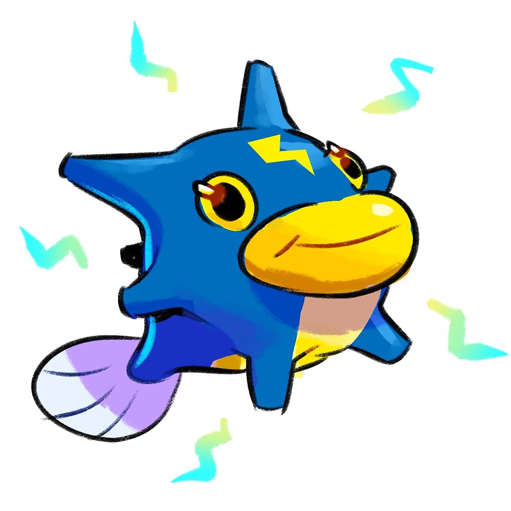 Gold Demo : Qwilfish Evo by Mr-Pidge