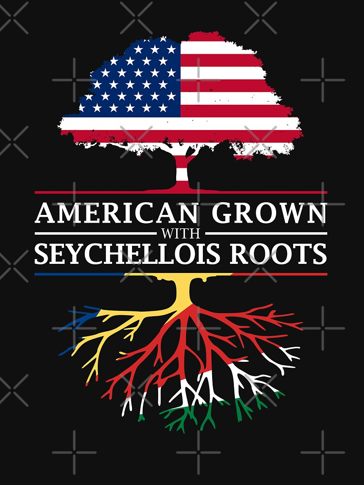 American Grown with Seychellois Roots   Seychelles Design by ockshirts