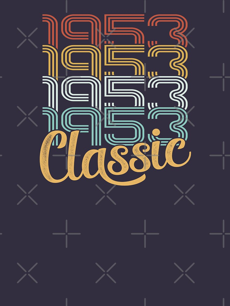 Vintage 1953 Retro Classic - 65 Birthday by funny-gift