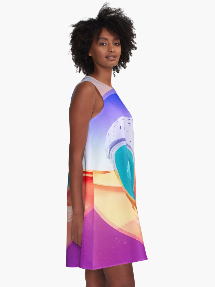 Alternate view of Tranquil A-Line Dress