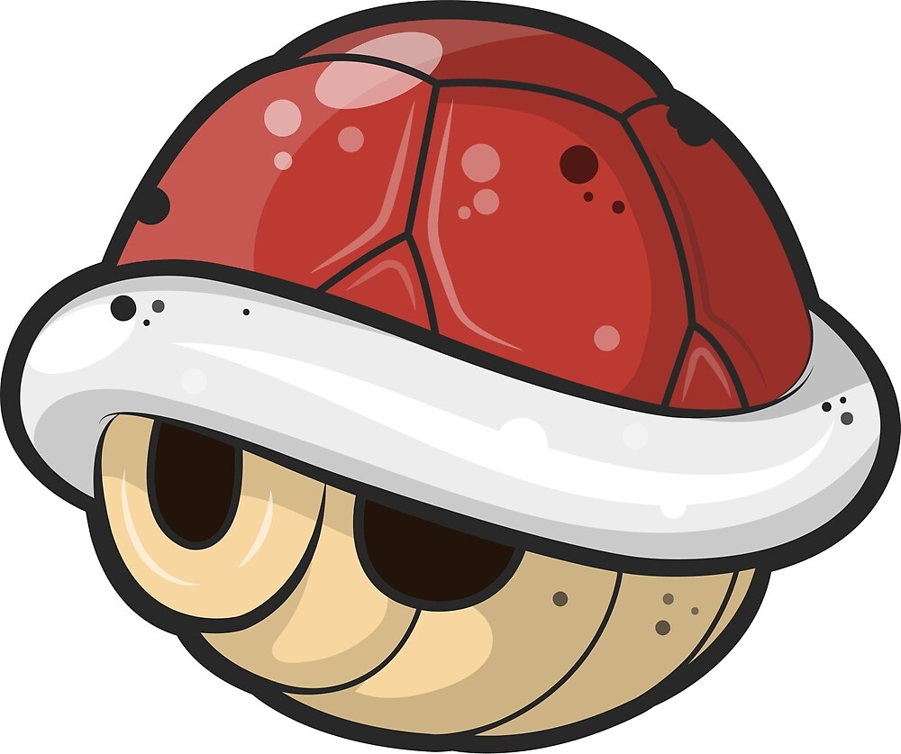Super Mario - Red Shell by Paolo Finazzi