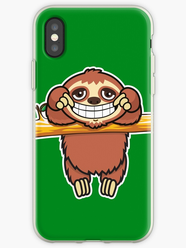 Sloth grin 2 by plushism