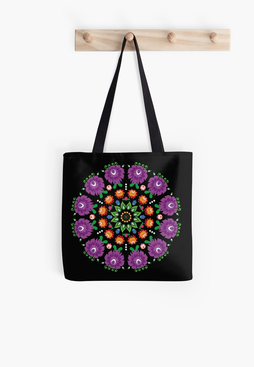 Folk - mandala #1 black by FK-UK