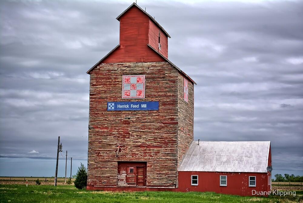 Herrick Feed Mill 2 by Duane Klipping