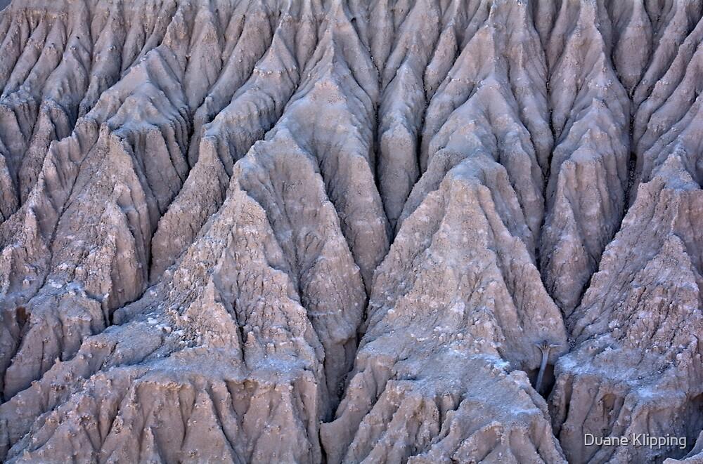 Eroding Badland 3 by Duane Klipping