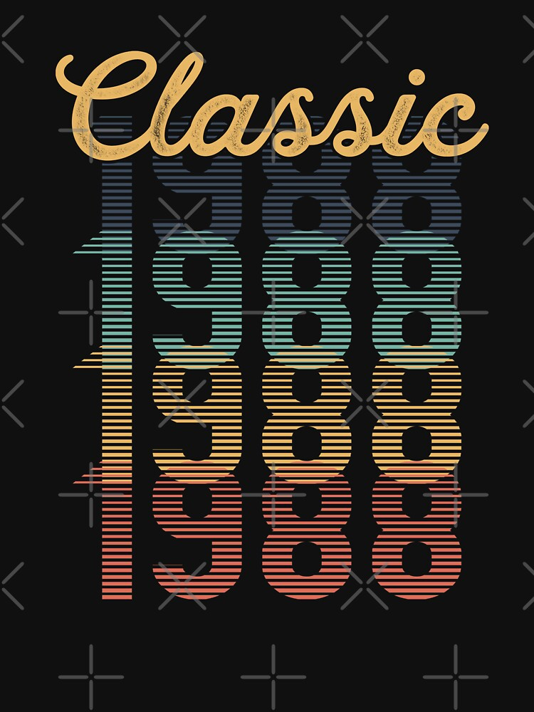 Vintage 1988 Classic by funny-gift