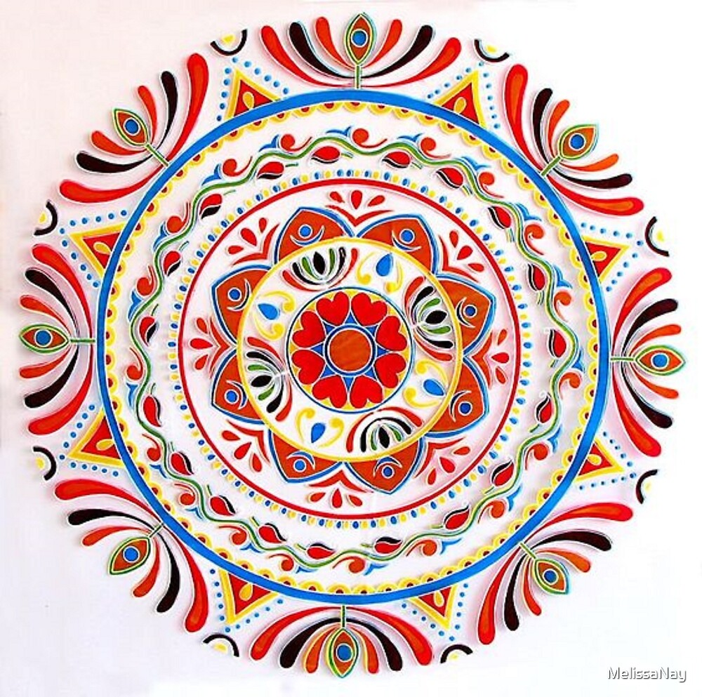 Colorful Mandala by MelissaNay