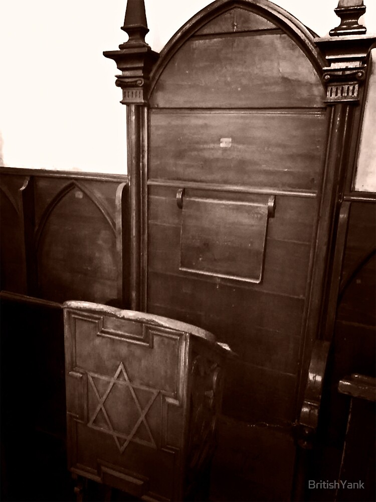 Rabbi's Chair - © Doc Braham - All Rights Reserved by BritishYank