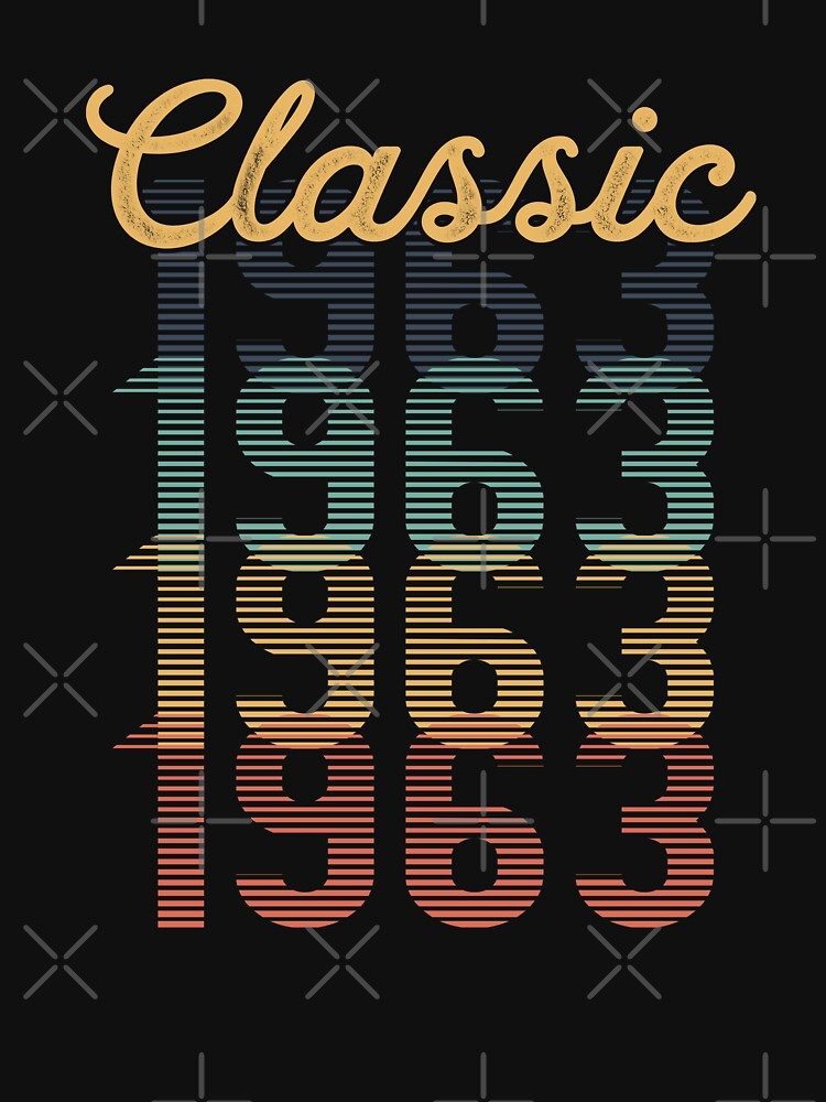 Vintage 1963 Classic by funny-gift