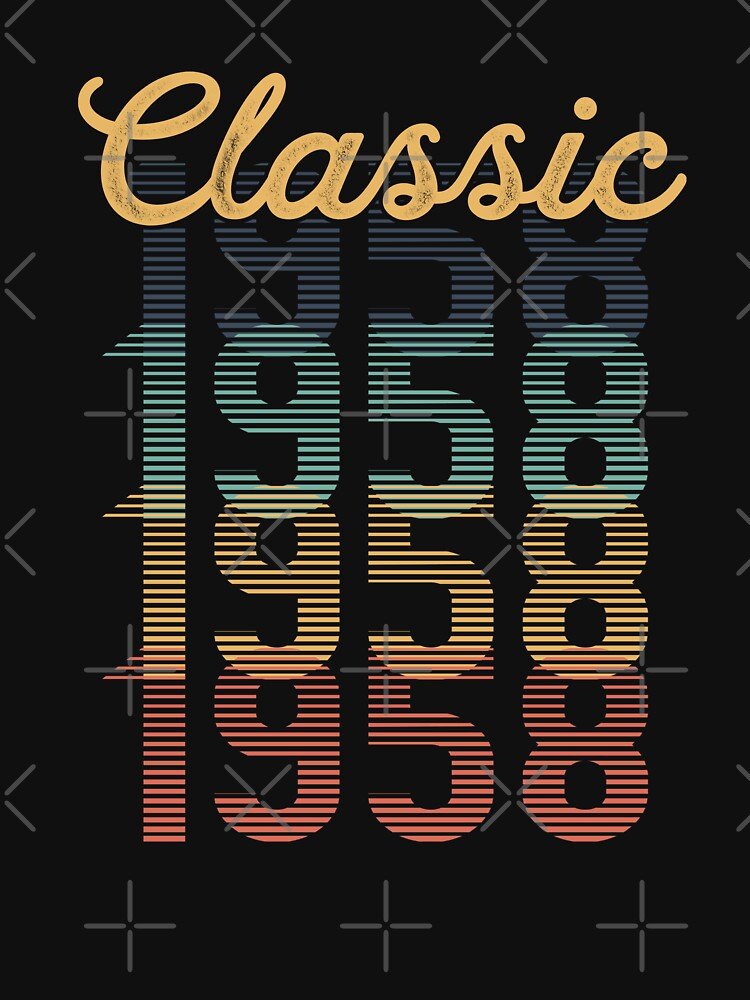 Vintage 1958 Classic by funny-gift