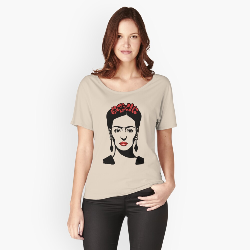 Frida Kahlo Women's Relaxed Fit T-Shirt Front