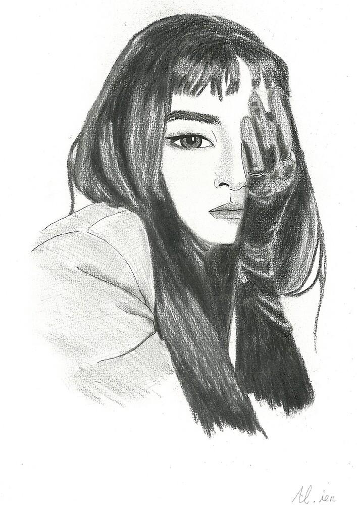 Seulgi Peek-A-Boo by -AllieB-