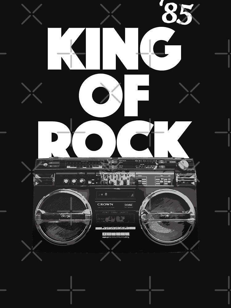 King of Rock, Classic Hip Hop by BonafideIcon