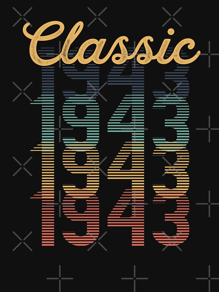 Vintage 1943 Classic by funny-gift