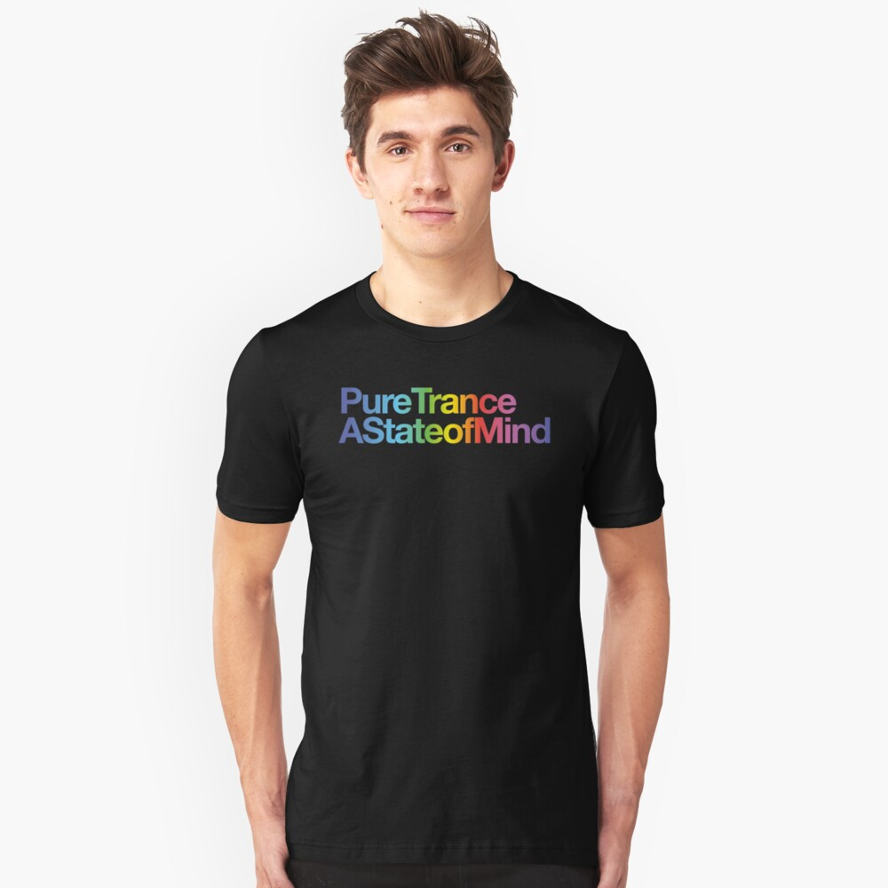 Pure Trance - State of Mind Unisex T-Shirt Front