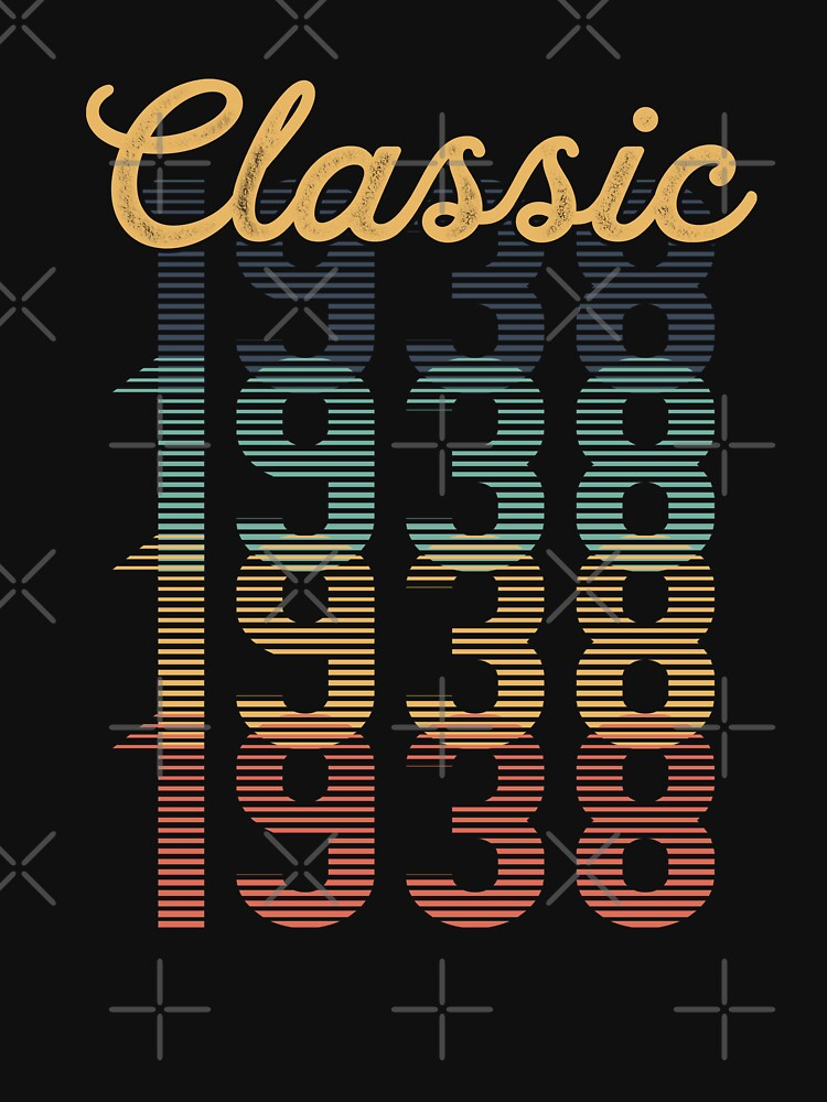 Vintage 1938 Classic by funny-gift