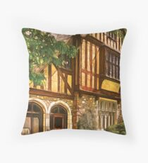 Castle III Throw Pillow