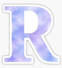 Letter R - Blues Sticker