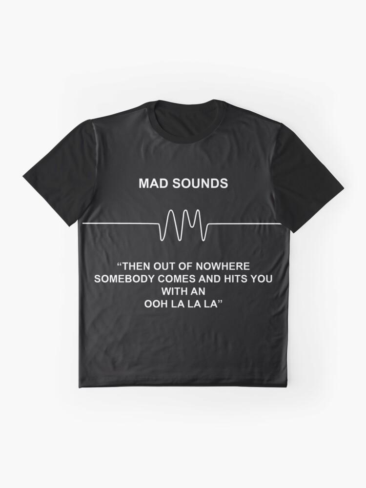 Alternative Ansicht von Mad Sounds - Arctic Monkeys AM-Lied Grafik T-Shirt