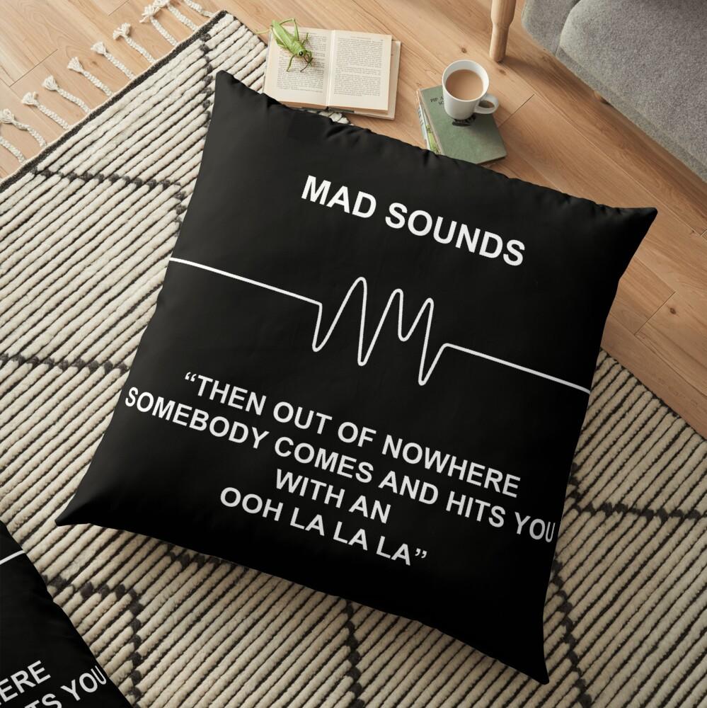 Mad Sounds - Arctic Monkeys AM-Lied Bodenkissen