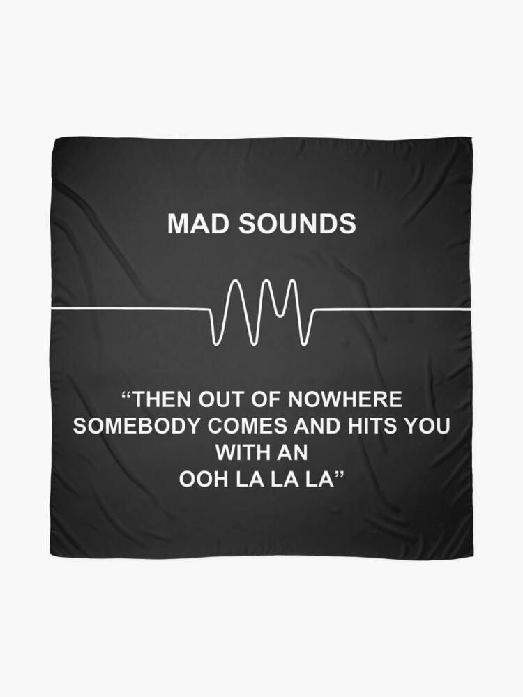 Alternative Ansicht von Mad Sounds - Arctic Monkeys AM-Lied Tuch