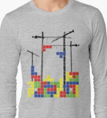 Tetris Skyline Long Sleeve T-Shirt