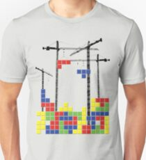 Tetris Skyline T-Shirt