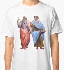 Plato und Aristoteles Classic T-Shirt