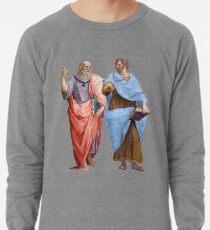 Plato and Aristotle  Lightweight Sweatshirt