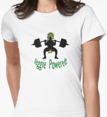 Veggie Powered Women's Fitted T-Shirt