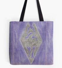 Skyrim elder scrolls: Dragonborn Tote Bag