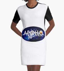 The NASA Apollo 50th anniversary logo Graphic T-Shirt Dress